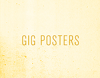 Gig Posters 2014