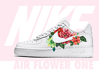 Custom Nike Air Flower 1