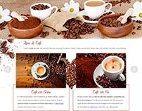 Landing page - Momento café - Rede Angeloni