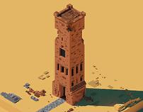 Tower Desert