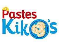 Rediseño Logotipo: Pastes Kiko´s Libres de Gluten
