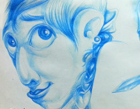 #50_multiply_2_pen_sketches