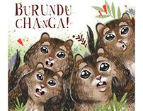 Burunduchanga. Children book.