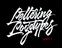 Lettering Logotypes Part 1