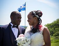 Rose and Salomon's wedding