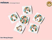 @bonwongdesigns x noissue Homepage - 03/09