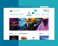 Night clubs network - grid web - design
