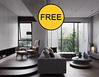 FREE Interior Livingroom 033