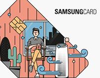 Samsung Card Select 34 / Artwork, Exhibition, Illustrat