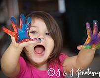 Candid children's photo shoot