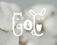 Giggles&Cotton corporate identity and gift cards