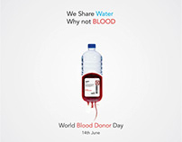 World blood donor day social media post