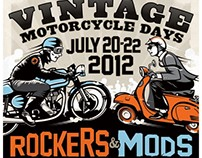 AMA Vintage Days Illustration