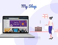 My Shop : An e-commerce website