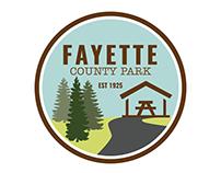 Fayette County Park Logo, Map, Letterhead
