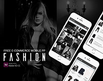 Fashion e-commerce app