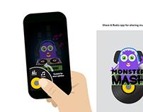 MonsterMash App Visual Design
