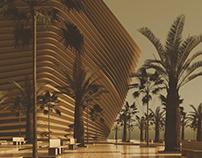 DUBAI CREEK HARBOUR ICONIC MOSQUE