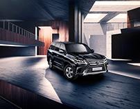 Lexus LX 2016 | CGI | studio