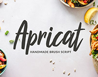 Apricat Brush Script