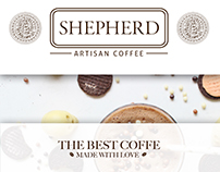 Shepherd Coffee Branding