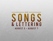 Songs & Lettering - Week 1