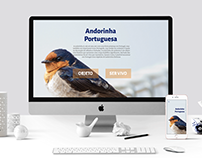 Andorinha Portuguesa - UI & UX Design