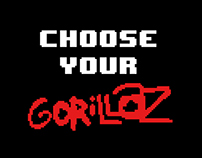 Choose your Gorillaz - poster