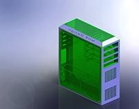 CPU Case (Sheet metal) - Solidworks