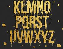 Liquid Golden Font