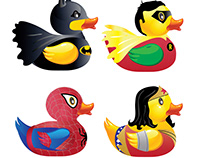Super Hero Ducks