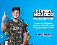 Chromos Pré-Vestibulares | Campanha Cefet/Coltec