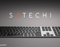 Satechi Keyboard Product 3D Animation Launch VIdeo