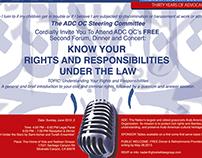 American Arab anti-discrimination event