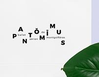 pantŏmīmus – logo