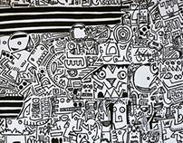 Just drawing..Discovering Victor Ekpuk