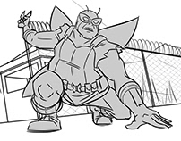 """The Venture Bros."" Storyboard Animatic"