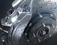 Mercedes-AMG SLS Rear Brake