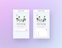 Symptom Checker App Design