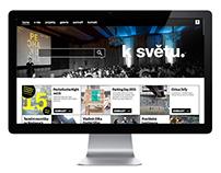 Webové stránky k světu.