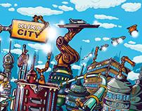 Kuka City Posterdesign