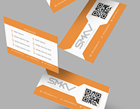 Logo, business cards and flyer design for SMKV firm