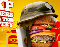 EXP Burger Delivery