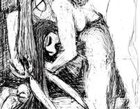 Biblical Woman - illustrations