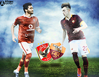Al Ahly Vs AS Roma Match Card