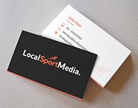 Business Card Local Sport Media