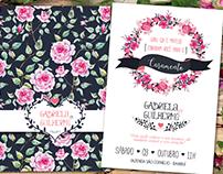 Convite de Casamento - Gui & Gabi