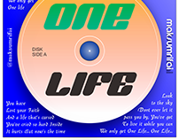 CD Packaging Design, One Life by Boyce Avenue