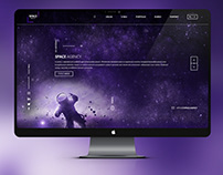 SPACE AGENCY brand design concept
