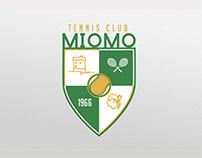 Tennis Club Miomo - Brand identity